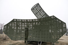 Military mobile radar station Stock Photos