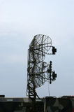 Military mobile radar station Royalty Free Stock Image