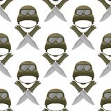 Military modern camouflage helmet army protection   Stock Images