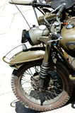 Military motorcycle stock images