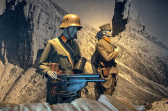 Military museum in the Hohensalzburg Stock Photos