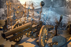 Military museum in the Hohensalzburg Stock Photo