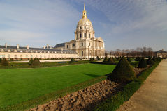 Military museum - Hotel des Invalides Stock Images