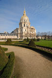 Military museum - Hotel des Invalides royalty free stock photography