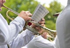 Military musician Royalty Free Stock Photography