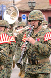 Military musician Royalty Free Stock Images