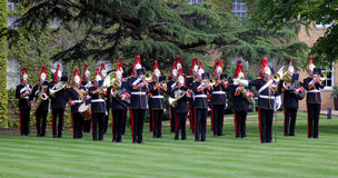 Military Musicians Royalty Free Stock Photography