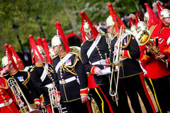 Military Musicians Stock Photography