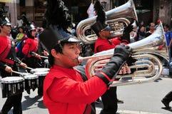 Military Musicians, Yogyakarta city festival Stock Photography