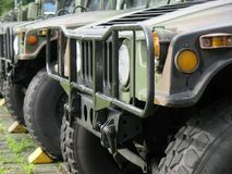 Military Off-Road Vehicles Royalty Free Stock Image