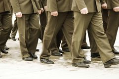 Military officers Stock Image