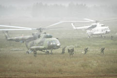 Military operation Stock Image