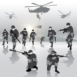 Military operation Royalty Free Stock Photography