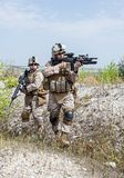 Military operation Stock Images