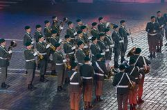 Military orchestra of the Tyrol (Austria) Royalty Free Stock Images