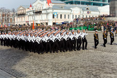Military parade 1 Stock Photo