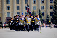 Military parade Stock Image
