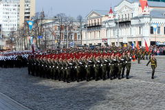 Military parade Stock Photos