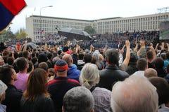 Military parade in BELGRADE Stock Photos
