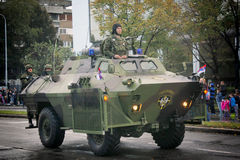 Military parade in BELGRADE Stock Images
