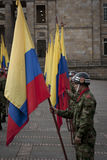Military Parade in Bogota, Colombia Stock Photo