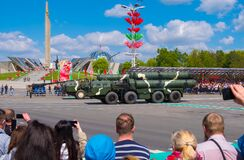 Military Parade for the celebration of the 75th anniversary of the Victory in the Great Patriotic War in Minsk, Belarus