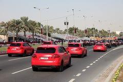 Military parade in Doha, Qatar Stock Photos