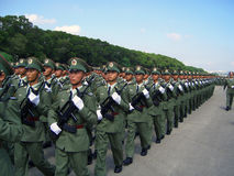 Military Parade - Hong Kong, China Stock Photography