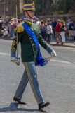 Military parade at Italian National Day Stock Photography