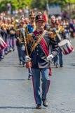 Military parade at Italian National Day Royalty Free Stock Photography