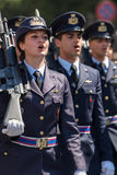 Military parade at Italian National Day Stock Images