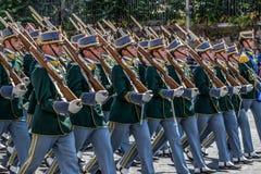 Military parade at Italian National Day Royalty Free Stock Image