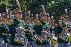 Military parade at Italian National Day Royalty Free Stock Photo