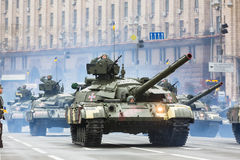 Military parade in Kiev Royalty Free Stock Image