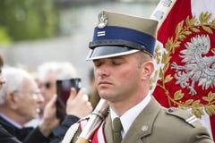 Military parade Stock Image