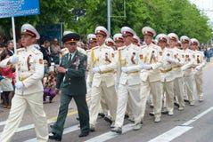 Military parade May 9, 2010 Royalty Free Stock Photo