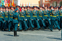 Military parade in Moscow, Russia, 2015 Stock Images