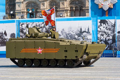 Military parade in Moscow, Russia, 2015 Royalty Free Stock Photo