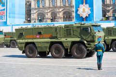 Military parade in Moscow, Russia, 2015 Stock Photo