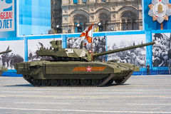 Military parade in Moscow, Russia, 2015 Royalty Free Stock Image