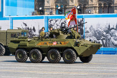 Military parade in Moscow, Russia, 2015 Stock Photos