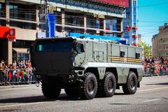 Military parade in Moscow on 9th of May Royalty Free Stock Photography