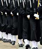 Military Parade Soldiers Marching Stock Photo