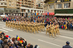 Military parade Royalty Free Stock Images