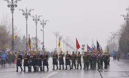 Military parade Royalty Free Stock Photography