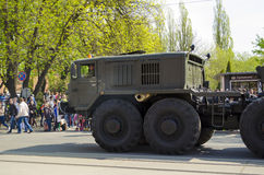 Military Parade for the 70th anniversary of the victory over fas Stock Images