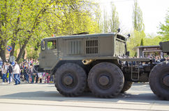 Military Parade for the 70th anniversary of the victory over fas Stock Photos