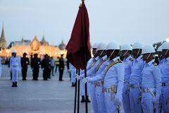 Military Parade for Thai King's birthday, a major Stock Image