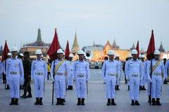 Military Parade for Thai King's birthday, a major Royalty Free Stock Photo