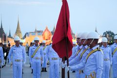 Military Parade for Thai King's birthday, a major Royalty Free Stock Image